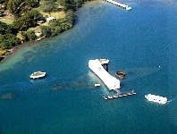 USS Arizona Memorial Aerial View