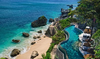 Pool View Of Ayana Resort and Spa