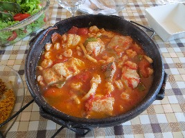 Beautiful Moqueca Saltwater fish stew