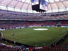 Sports stadium BC Place in Vancover