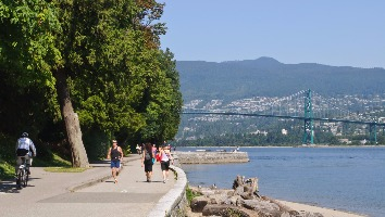 Seawall In Stanley Park