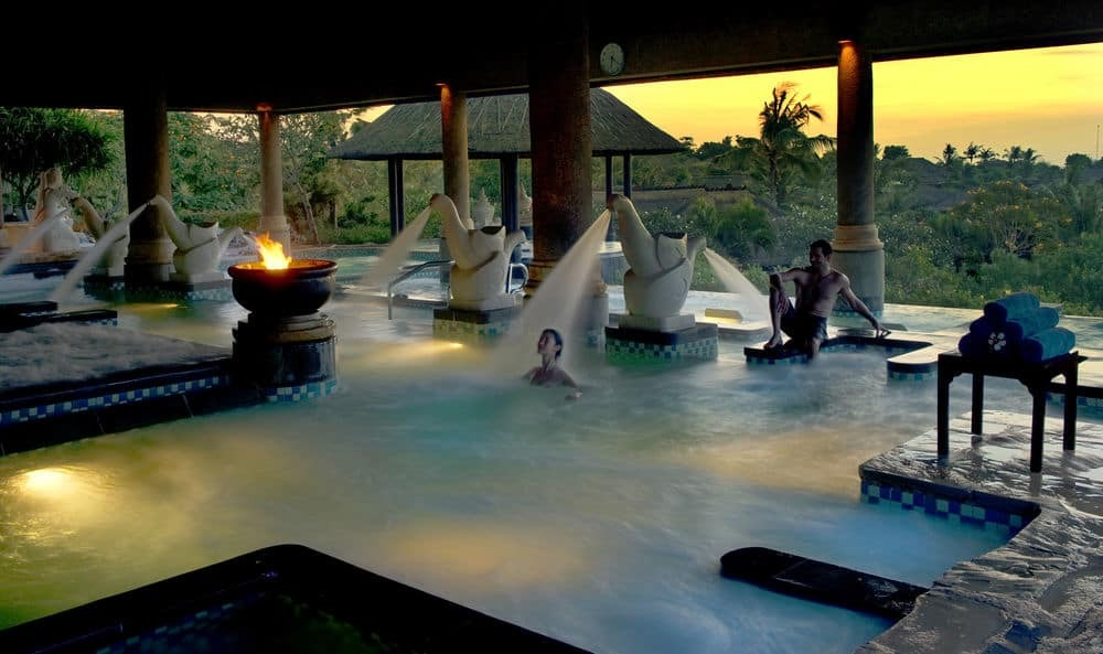 Ayana Spa And Resort Outdoor Spa