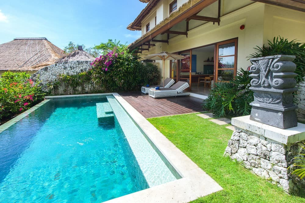 Two Bedroom Villa Pool at The Karma Kandara In Bali