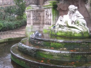 Medici Fountain In Paris